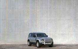 DISTINCTIVE SILHOUETTE - STATIC THE NEW LAND ROVER DEFENDER