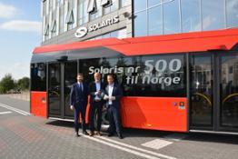 Solaris Oslo 500. autobus