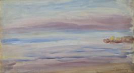 09 RENOIR Coucher de Soleil, vue de Guernesey 1893