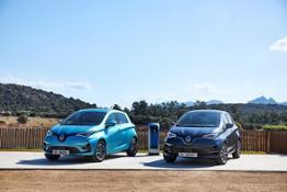 21231643 2019 - New Renault ZOE tests drive in Sardinia