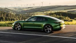 2900084 taycan turbo s mamba green metallic taycan media drive europe 2019 porsche ag 1