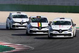 21232381 CS - SCATTA DA VALLELUNGA LA VOLATA FINALE DELLA CLIO CUP ITALIA E CLIO CUP