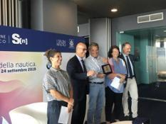 Prize giving Alessandro Cappiello