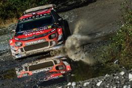 Citroën Racing Rally Gran Bretagna Giorno 1 (2)