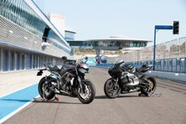 New Street Triple RS & Moto2 Prototype - Static Location