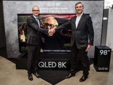 Samsung CHILI primo servizio  streaming 8K al mondo BrunoMarnati GiorgioTacchia
