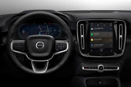 258977 Fully electric Volvo XC40 introduces brand new infotainment system