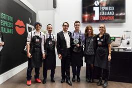 Espresso Italiano Champion i finalisti