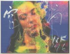 Untitled (Charlotte Moorman), 1996
