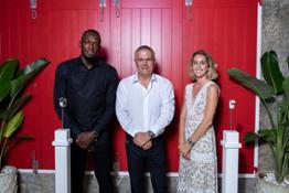 Usain Bolt, Ricardo Guadalupe, Pauline Moriceau