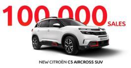 IL NUOVO SUV CITROEN C5 AIRCROSS TAGLIA IL TRAGUARDO DELLE 100.000 VENDITE!