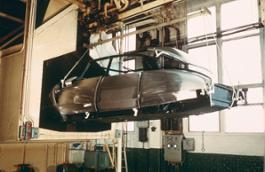 Assemblaggio della DS nella fabbrica belga di Forest 1 0