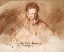 Rembrandt's Father (c) Ashmolean, University of Oxford