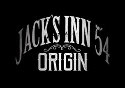Jacks Inn Metall Logo Prägung