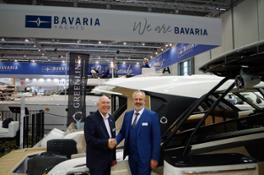 Michael Mueller CEO BAVARIA YACHTS Vladimir Zinchenko CEO Greenline Yachts