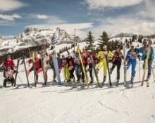 Alta Badia The Skicarousel Vintage Party © freddy planinschek