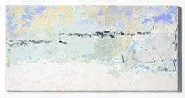 10. Paesaggi in polvere, 2017, pigmenti e scagliola su tavola, cm 100x200