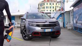 SUV Citroen-áC5 Aircross ideale per soddisfare anche le esigenze di un campione