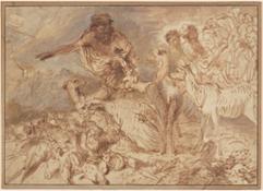 Castiglione Noah-leitet-die-Tiere-in-die-Arche