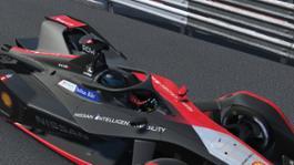 Nissan Formula E - R3 - Monaco - Race At Home - Oliver Rowland - 1