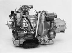 Motore e cambio della GS Birotor (foto 1)