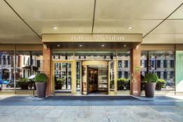 Entrance Hilton Milan HIGH