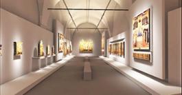 Museo di San Marco - PROGETTO Nuovo allestimento della Sala dell'Ospizio (FI)