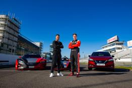 Nissan Ultimate EV - Eden Hazard & Oli Rowland1-source