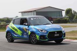 Swift Sport Hybrid Rally Italia Talent