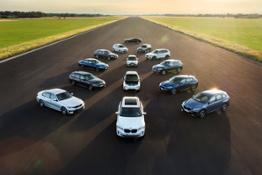BMW Group electrified model range - Family Shots