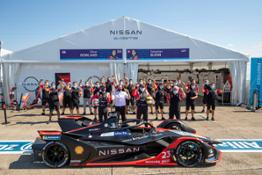 Nissan Formula E Team photo Berlin-source