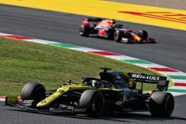 Daniel Ricciardo finished just shy of the podium at the Mugello
