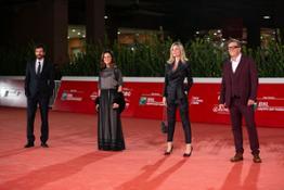 Da sin  Francesco Scianna-Giovanna Vitelli, Mariana Falace e Gabriele Muccino alla Festa del Cinema di Roma
