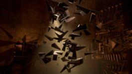 12. Screenshot dell'esperienza multisensoriale in realtà virtuale Labyr-Into. Dentro il labirinto di Arnaldo Pomodoro di Oli