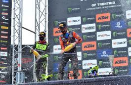 A. Cairoli & T. Gajser podium