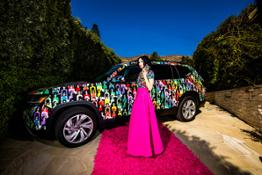 Stacey Bendet of alice  olivia and VW Atlas--12429