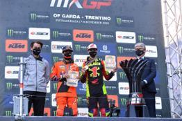 T. Vialle & T. Gajser champions