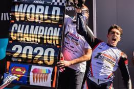Albert Arenas Moto3 2020 Champion