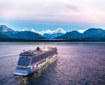 Norwegian Encore Alaska Aerial Composite PC: Norwegian Cruise Line