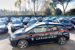 Nissan LEAF all'ARMA dei CARABINIERI (1)