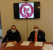 Firma accordo Banca Mps e Consorzio Vino Nobile Montepulciano