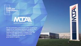 MTA FCA Supplier of the Year Reason Why