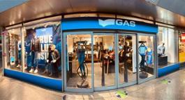 GAS temporary Roma Termini front