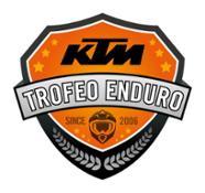 KTM Trofeo Enduro Logo Since 2006