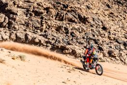 Sam Sunderland - Red Bull KTM Factory Racing - 2021 Dakar Rally Stage Eight