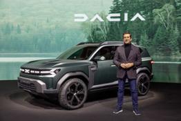 20-2021 - Dacia Bigster Concept and Alejandro MESONERO-ROMANOS, designer