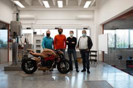 from left Alessandro Volpini, Timur Sardarov, Brian Gillen e Giorgio Mazzotti