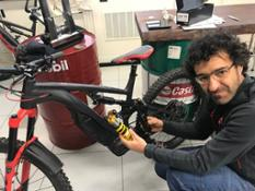THOK E-Bikes - Luca Burzio the industrial designer of the bike
