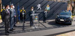 NUOVA PEUGEOT e-208 AL SERVIZIO DELLA GUARDIA DI FINANZA (23)