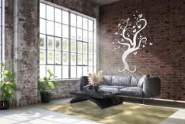 AdobeStock 253292900 - esagoni ottone e heaven tree BIANCO